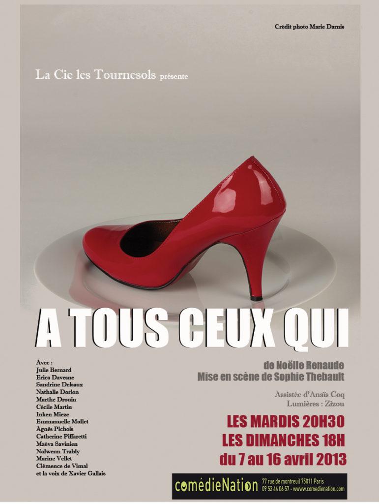 Créations 2013 de la compagnie les Tournesols