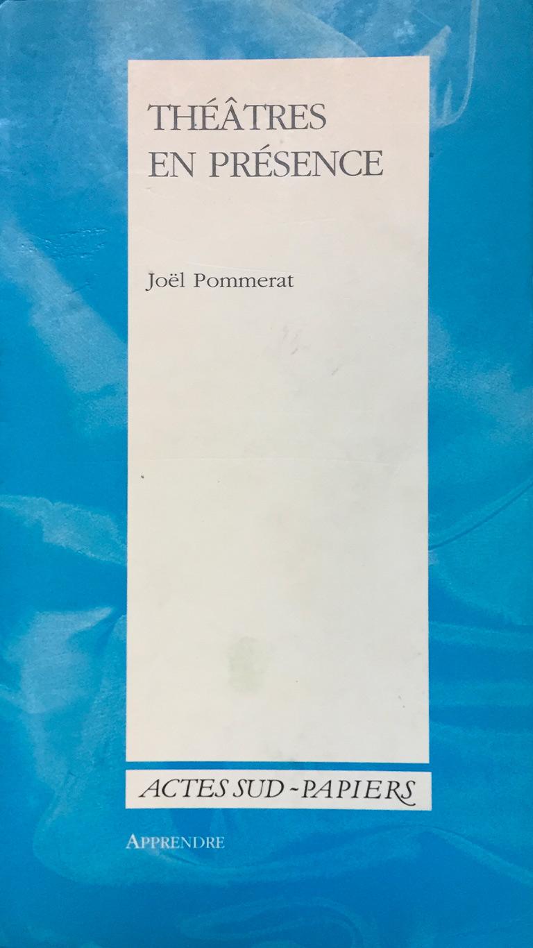 Stage l'univers et les textes de Joël Pommerat