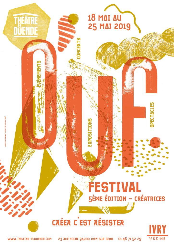 Affiche Ouf Festival/ LIZA ET MOI