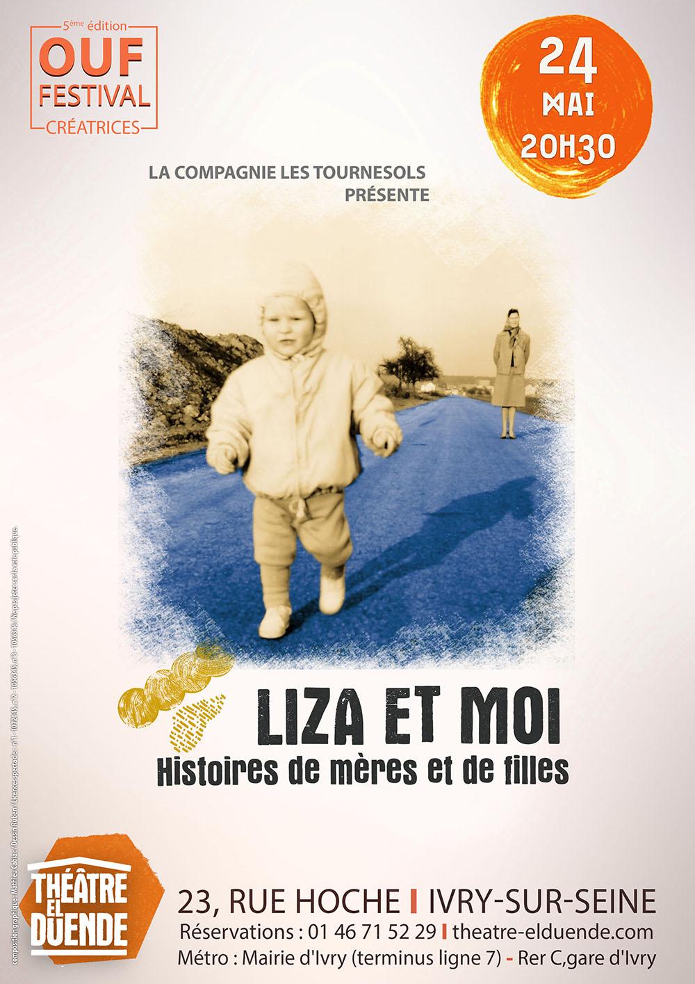 Affiche LIZA ET MOI / OUF Festival