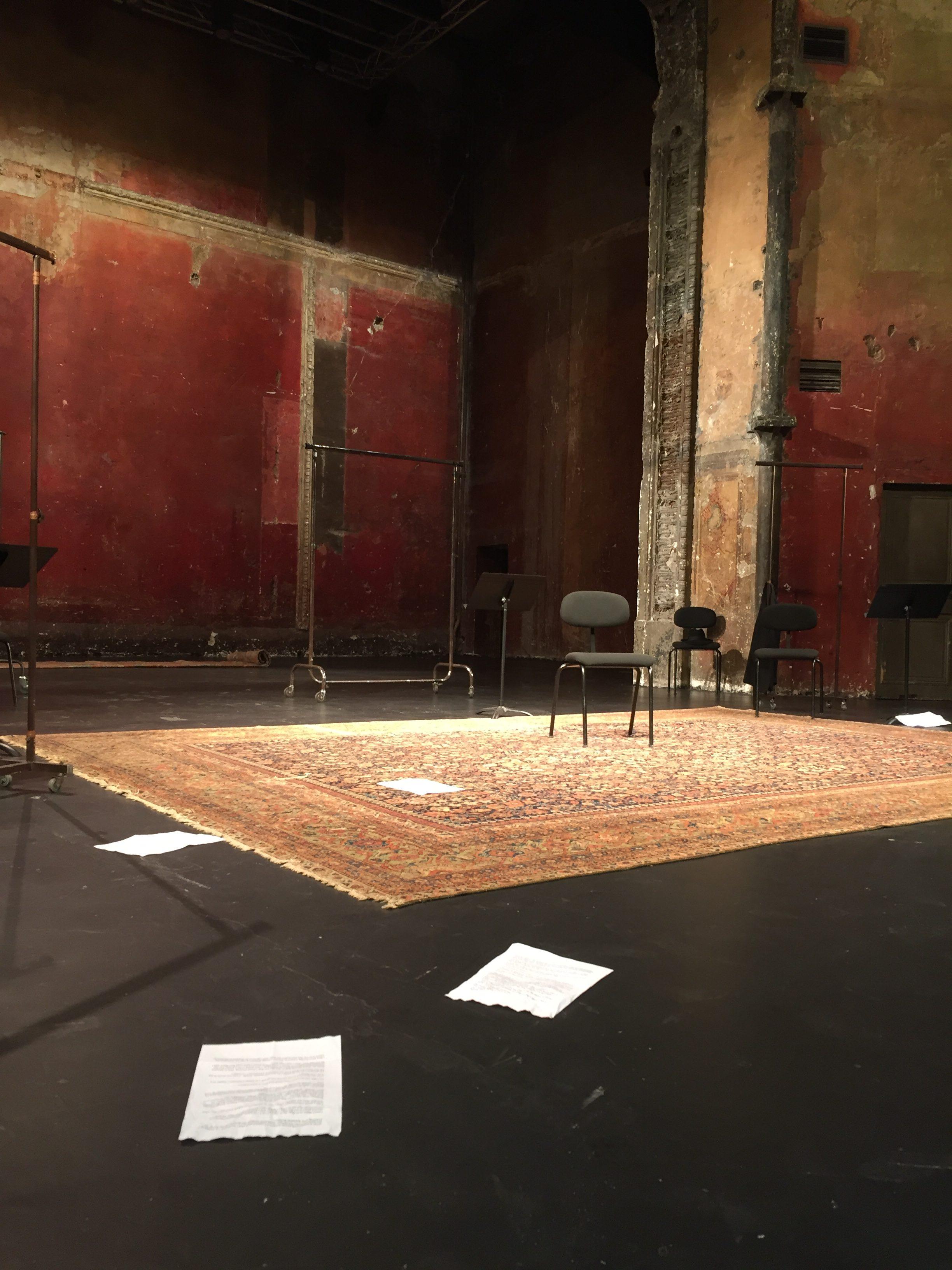 Interpréter un monologue de théâtre contemporain